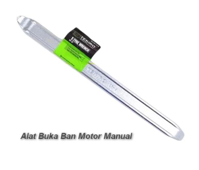 Alat Buka Ban Motor Manual