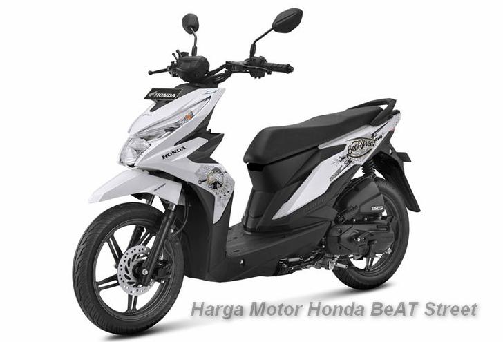 Harga Motor Honda BeAT Street