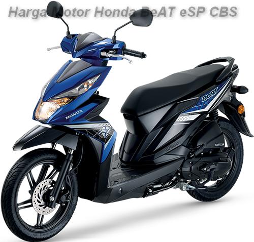 Harga Motor Honda BeAT eSP CBS