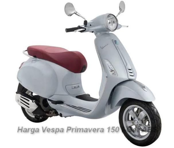 Harga Motor Vespa Primavera 150 I-Get ABS