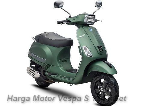 Harga Motor Vespa S 124 I-Get