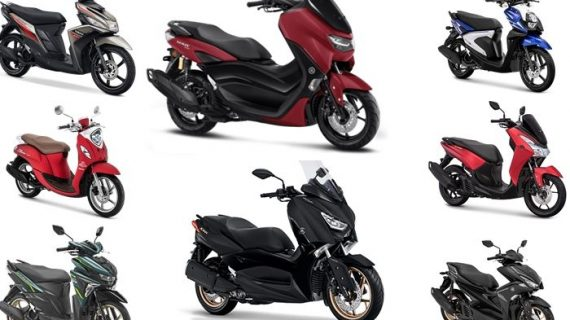 Harga Motor Matic Yamaha Yang Telah Dipasarkan Di Indonesia