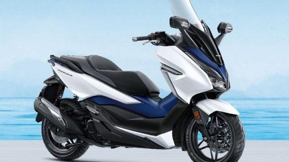 Honda Forza Terbaru Tampak Lebih Elegan